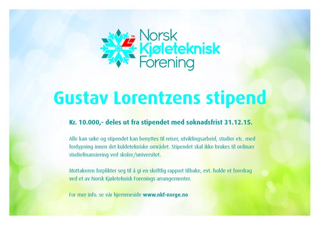 Gustav Lorentzens stipend